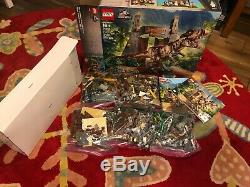 100% Complete LEGO 75936 Jurassic Park T. Rex Rampage Opened