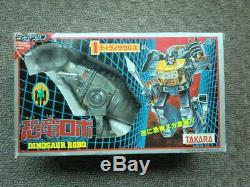 1984 Diaclone Dinobot BLUE Grimlock pre G1 Transformers Takara T-rex Dinosaur