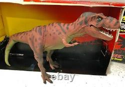 1993 Kenner Jurassic Park Electronic Tyrannosaurus Rex Red T-Rex