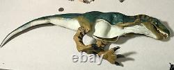 1997 Hasbro Jurassic Park Lost World JP28 Bull T-Rex Works RARE Roars Dinosaur