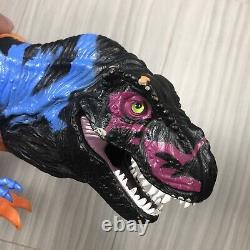 1997 Hasbro Jurassic Park Omega T Rex Vintage Chaos Effect Trex Dinosaur Toy