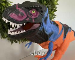 1997 Kenner Jurassic Park Chaos Effect Omega T-Rex Tyrannosaurus Rex