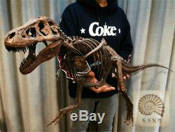 1/10 Tyrannosaurus Rex Skull Skeleton Animal Model Dinosaur Trex Collector Toys