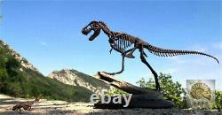 1/25 Tyrannosaurus Rex Edmontosaurus Fossil Dinosaur Animal Trex Collector Toy