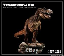 1/35 Itoy Tyrannosaurus Rex T-Rex Painted Resin Dinosaur Resurrection Model
