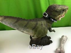 2008 Mattel Prehistoric D-REX T-Rex Pet Robot Robotic Dinosaur Predator Toy
