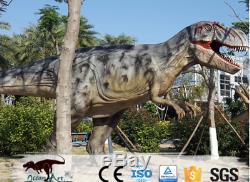 20' Commercial Animatronic Dinosaur Robotic Jurassic T-rex Theme Park Prop