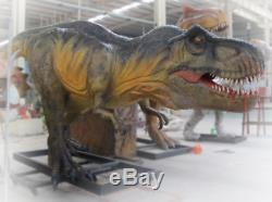 25' Commercial Animatronic Dinosaur Robotic Jurassic T-rex Theme Park Prop