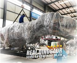 32' Commercial T-Rex Animatronic Dinosaur Robotic Jurassic Tyrannosaur SEE VIDEO