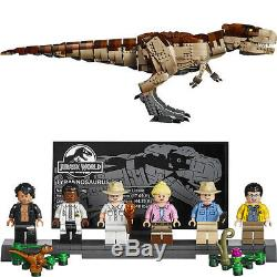 3508 Pcs NEW Jurassic Park T Rex Rampage Compatible Building Blocks Toys Gift
