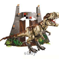 3508pcs Jurassic Dinosaur T Rex Park Rampage Building Blocks Bricks Set Kids DIY
