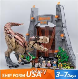 3508pcs Movie series Jurassic World Park T. Rex Rampage Building Blocks Toys UPS