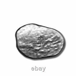 3 oz. 999 Fine Silver Bar T Rex Dinosaur Fossil Skull-In Stock Immediate Ship