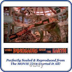 50% OFF 10 Ft-30 Ft Jurassic Park Movie Banner Dinosaur World T-Rex Prop Toys