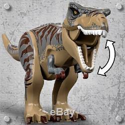75938 LEGO Jurassic World T. Rex vs Dino-Mech Battle Dinosaur Set 716 Pieces 8yr+