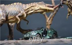 8436CM Dinosaur Jurassic World Tyrannosaurus Rex T-Rex Battle Resin Statue