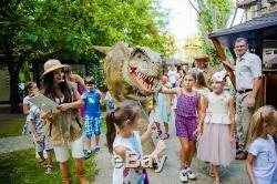 Adults t-rex dinosaur costume