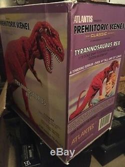 Aurora Prehistoric Scenes Tyrannosaurus Rex Atlantis T-Rex Kirby Devil Dinosaur