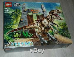BNIB LEGO Jurassic World 75936 Jurassic Park T. Rex Rampage