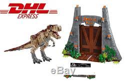 BRAND NEW Jurassic Park T. Rex Rampage Set (75936) + Instruction