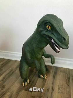 Baby Dinosaur T-Rex Statue Prehistoric Theme Display Prop