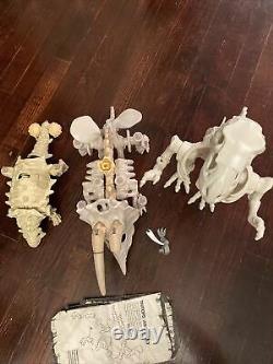 Bone Age Kenner Dinosaur Lot Tritops, T-Rex, Anklor. READ