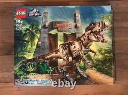Brand New LEGO jurassic park t. Rex rampage 75936 Building Kit