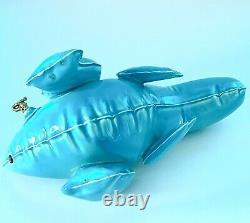 Brett Kern Turquoise Inflatable T-Rex Dinosaur Ceramic Art Sculpture