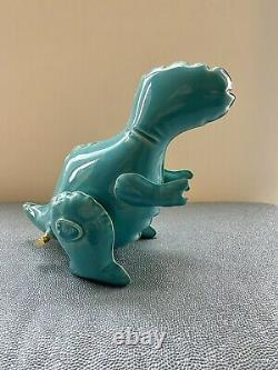 Brett Kern Turquoise Inflatable T-Rex Dinosaur Sculpture New And Perfect