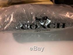 COACH LARGE Black Dinosaur T Rex Long Mohawk Rexy Bag Charm Key Fob W Gift Bag