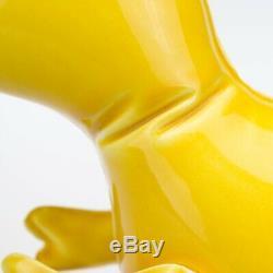 Charity Listing. Brett Kern Art Dinosaur Yellow T-Rex