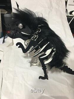 Coach LARGE Rexy T-Rex Dinosaur Keychain Key Fob Bag Charm MSRP $395 NWT 58598