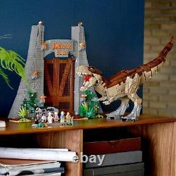 Compatible Jurassic World Jurassic Park T. Rex Rampage Building Kit