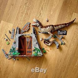 Compatible Jurassic World Jurassic Park T. Rex Rampage Building Kit 3120 Piece