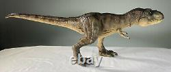 Custom Mattel Jurassic World Super Colossal Electronic T-Rex Tyrannosaurus Rex