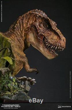 DAMTOYS Museum Collection Series Dinosaur MUS001A Statue T-Rex Bust IN STOCK
