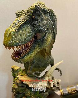 Dam Toys MUS001B Statue T-Rex Bust Figure Green Collection Series Dinosaur