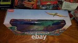 Definitely Dinosaurs 1987 Tyrannosaurus Rex T-Rex and Lexa Cavemen MiB Playskool