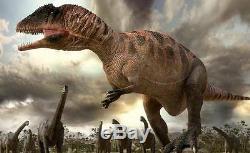 Dent Fossil Carcharodontosaurus T-Rex Dinosaur Fossil Tooth 5 7/8in
