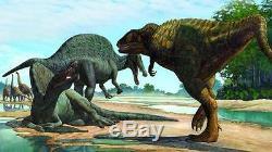 Dent Fossile Dinosaure Carcharodontosaurus T-Rex Dinosaur fossil tooth 98 mm