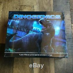 DinoGenics Kickstarter All-In Controlled Chaos Metal Coin Ammonite Corrupt T-Rex