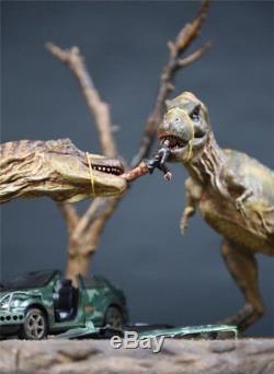 Dinosaur 8436cm Jurassic World Tyrannosaurus Rex T-Rex Battle Resin Statue