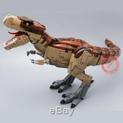 Dinosaur City World T. REX RAMPAGE Park Building Blocks 6 Figures 3156pcs DHL