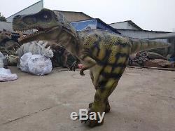Dinosaur Costume T-REX walking animatronic dinosaur costume hidden legs
