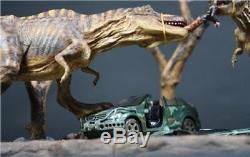 Dinosaur Jurassic World 8436cm Tyrannosaurus Rex T-Rex Battle Resin Statue New