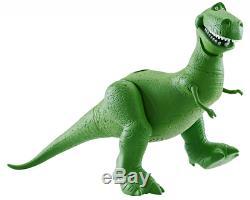 Disney Pixar Toy Story Talking Rex, T-Rex Dinosaur Collectible, Action Figure