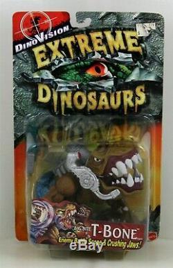 Extreme Dinosaurs Dino Vision 1997 Big Bite T-bone T-rex Street Sharks Rare Htf