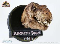 Female T-Rex 15 Scale Bust Dinosaur Replica Wall Mount Chronicle Jurassic Park