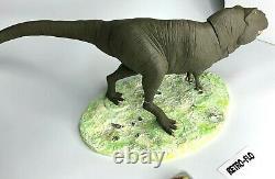 Figurine Lara Croft Tomb Raider Scène T-Rex Dinosaure Atlas Eidos Collector