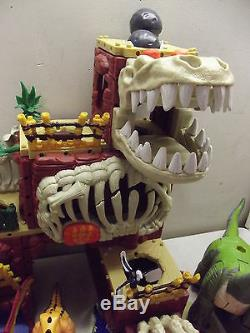 Fisher Price Imaginext Dinosaur T-rex Mountain Stegosaurus Brontosaurus Lot